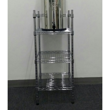Chrome Plated Metal Stand