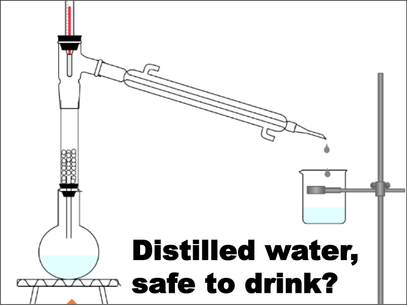 Distilled water for drinking?